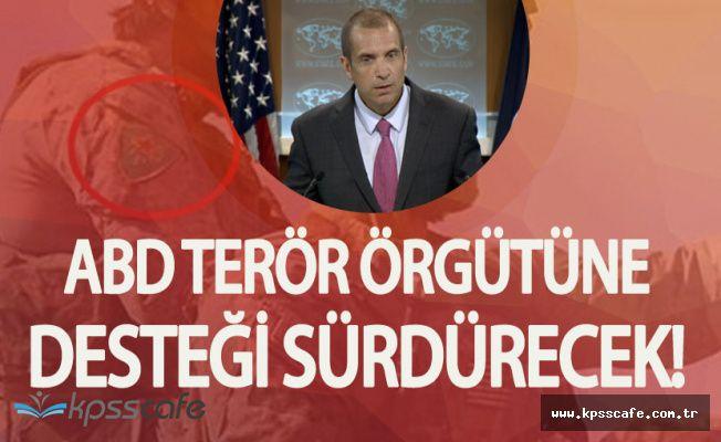 ABD'den Şok Açıklamalar! PYD /PKK'ya Destek Sürecek