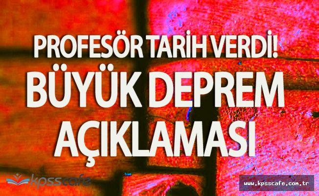 Deprem Uzmanı Profesör Marmara Depremi için Tarih Verdi!