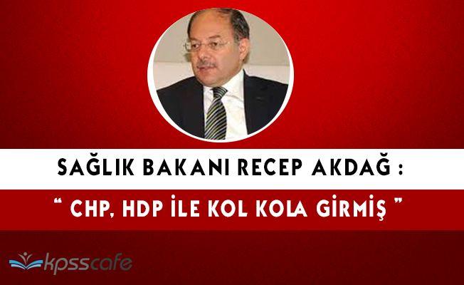 """Recep Akdağ: """"CHP, HDP ile kol kola girmiş 'Hayır' kampanyası yürütüyor"""""""