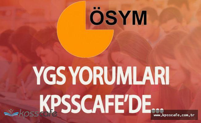2017 YGS'ye Giren Adaylar Sınavı KPSScafe'de Yorumlayacak!