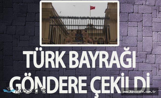 Son Dakika : Hollanda Başkonsolosluğunda Türk Bayrağı Göndere Çekildi!