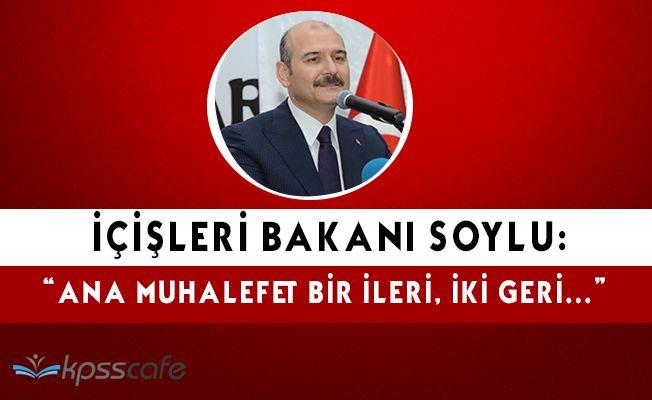 """İçişleri Bakanı Soylu: """"Birgün devalüasyon yaptırır seni iktidar ederim"""""""
