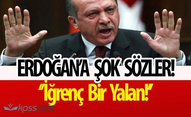 Hollanda Başkanı'ndan Erdoğan'a; İğrenç Bir Yalan!