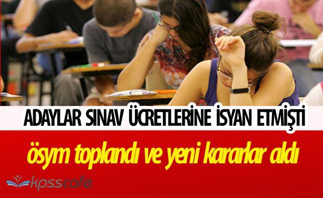 İsyan Edilen Sınav Ücretlerine ÖSYM Güncellemesi! KPSS Oturum Ücretleri Değişti
