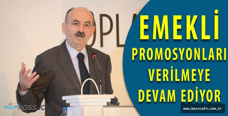 Bu Güne Kadar Kaç Emekli Promosyon Aldı? Çalışma Bakanı Emekli Promosyonları Hakkında Konuştu!