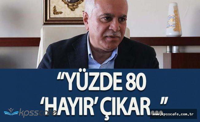 """MHP Genel Başkan Adayı Koray Aydın: """" Açsınlar Kanalları Yüzde 80 'Hayır' Çıkar"""""""