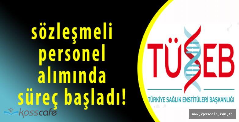 TÜSEB'e Sözleşmeli Personel Alınıyor! Başvuru Süreci Başladı