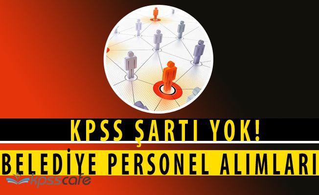 Dörtdivan Belediye Başkanlığı İlköğretim Mezunu Personel Alacak(KPSS ŞARTI YOK)