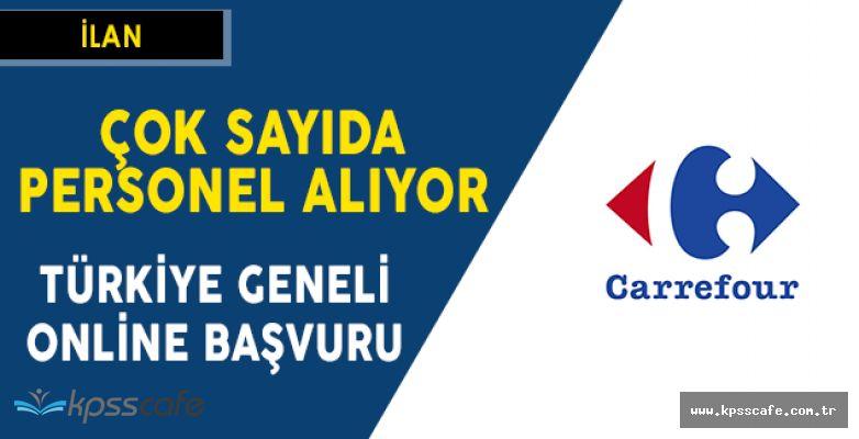 CarrefourSA Türkiye Geneli Personel Alımı Yapıyor! Online Başvuru