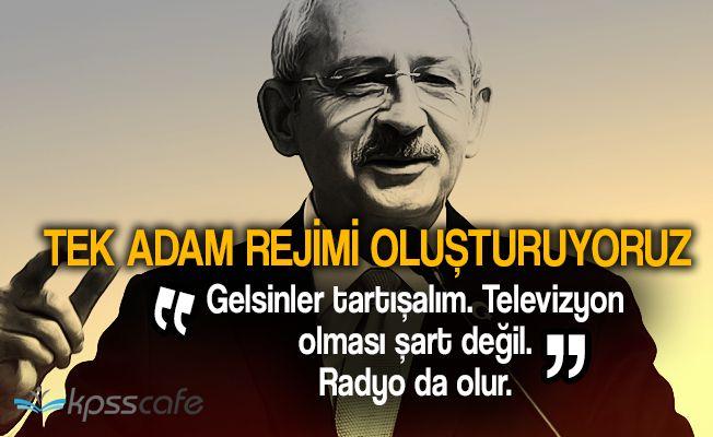 """Kemal Kılıçdaroğlu: """"Değişiklik dipsiz kuyuya benziyor!"""""""