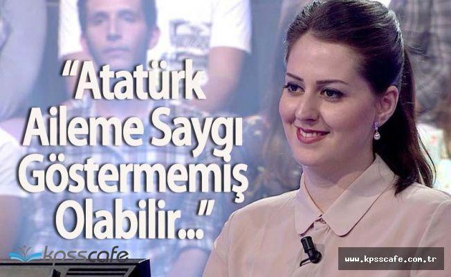 """Abdülhamit'in Torunu Nilhan Osmanoğlu: """" Atatürk Aileme Saygı Göstermemiş Olabilir ama..."""""""