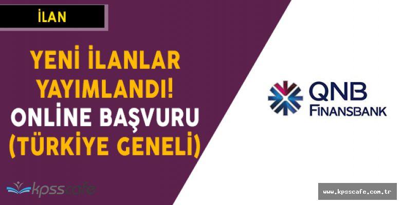Finansbank Yeni Personel Alımları Yapıyor! Online Başvuru (Türkiye Geneli)
