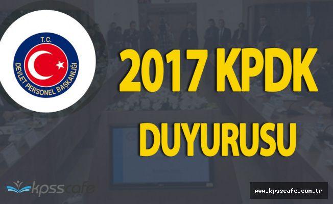 2017 Yılı Kamu Personeli Danışma Kurulu (2017 KPDK) Yarın Toplanıyor