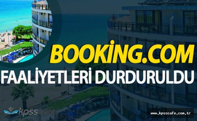 Booking.com Türkiye Faaliyetlerini Durdurdu