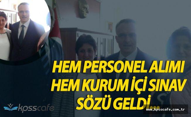Türk Büro-Sen Açıkladı! 2500 Personel Alımının Yanı Sıra Bir Müjdeli Haber Daha!