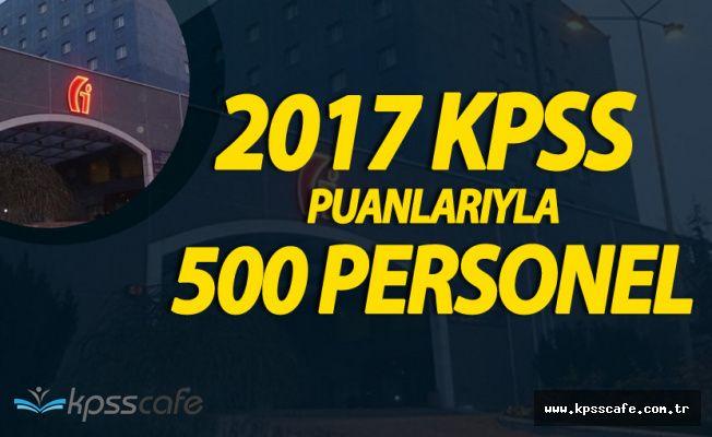 2017 KPSS Puanları için 500 Kontenjan Mı Ayrıldı? 'İşte O Detay'