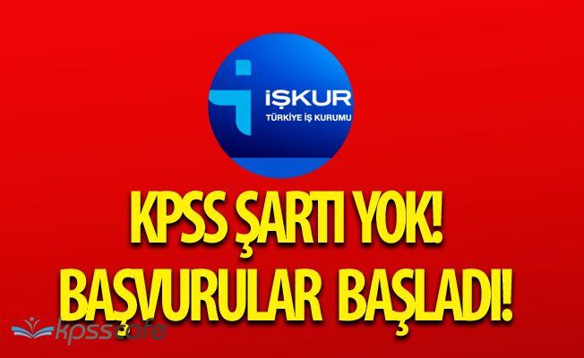 Eşmekaya Belediye Başkanlığı'na KPSS Şartsız Personel Alımı Yapılacak
