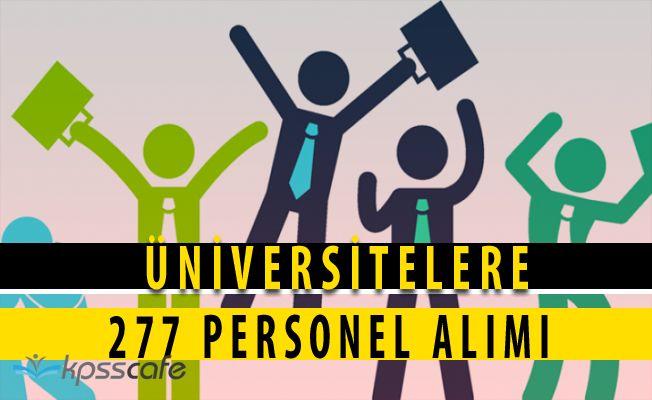Üniversitelere 277 Akademik Personel Alımı Yapılacak! Başvuru Kılavuzu