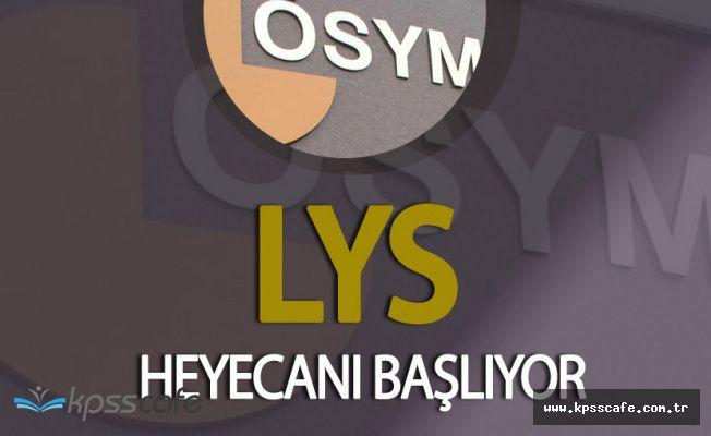 LYS Başvuruları 14.00'da Başlıyor! LYS Başvuru Ücreti Belli Oldu