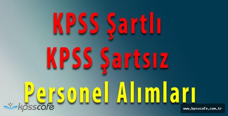 5 Farklı Belediye Başkanlığına KPSS Şartlı Şartsız 31 Personel Alınacak
