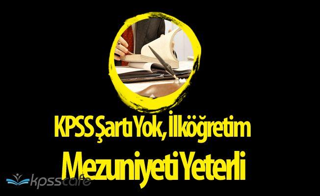Karaçomak Sulama Birliği İşçi Alım İlanı Yayımladı! KPSS Şartı Yok, İlköğretim Mezuniyeti Yeterli