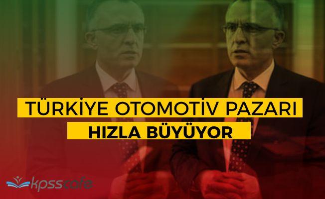"""Maliye Bakanı Ağbal: """"Türkiye otomotiv sektörünün önü açık"""""""