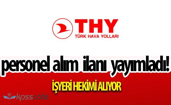 Türk Hava Yolları (THY) Personel Alımlarında Bulunacak-Başvuru Ekranı