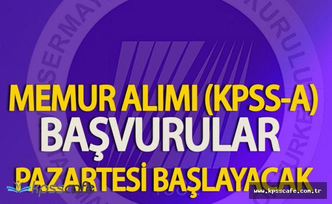 SPK Memur Alımı (KPSS-A) Yapacak! SPK Başvuruları Hakkında Merak Edilenler