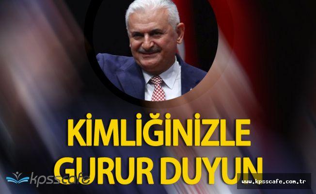 """Binali Yıldırım: """"Kürtler, Araplar, Zazalar Kimliğinizle Gurur Duyun"""""""