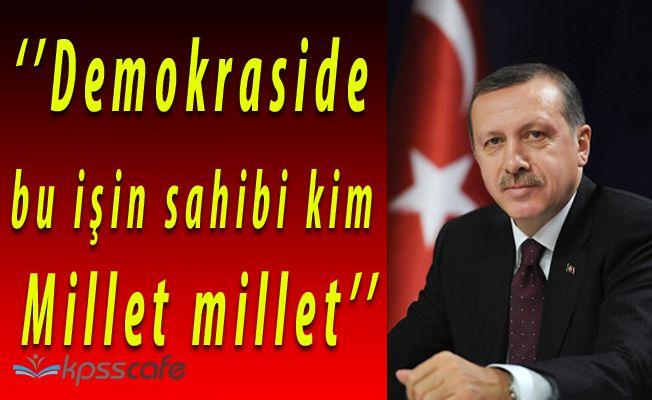 Cumhurbaşkanı Recep Tayyip Erdoğan; 'GEREKİRSE BİR DAHA REFERANDUMA GİDERİZ'
