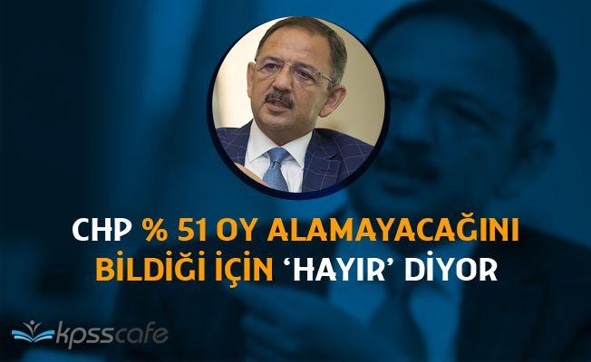 Çevre Bakanı Özhaseki'nin CHP ve Kılıçdaroğlu Açıklamaları
