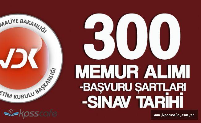 Vergi Denetim Kurulu Başkanlığı 300 Memur Alacak! ( KPSS ŞARTI VAR! )