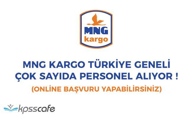 MNG Kargo Türkiye Geneli Çok Sayıda Personel Alıyor! (Ofis ve Dağıtım Personeli)