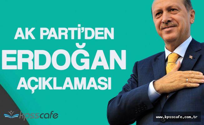 SON DAKİKA: AK Parti'den Erdoğan Açıklaması! 27-28 Nisan'dan Sonra