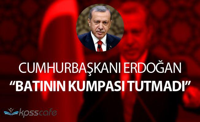 """Cumhurbaşkanı Erdoğan CNN İnternational'a Konuştu: """"Batının kumpası tutmadı"""""""