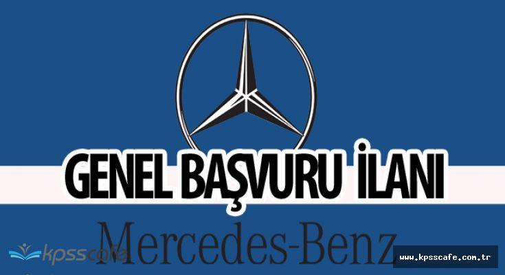 Mercedes Benz Çok Sayıda Pozisyonuna Personel Alacak(Genel Başvuru)