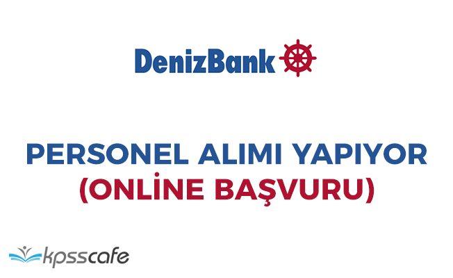 Denizbank Personel Alımları Yapıyor! Online Başvuru İmkanı
