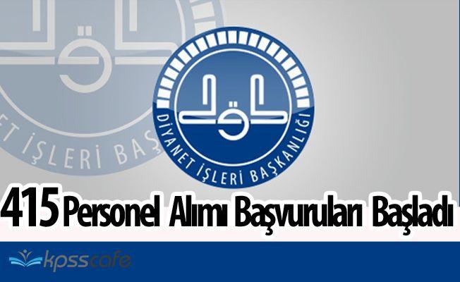 KPSS 50 Puan ile 415 Sözleşmeli Personel Alımında Süreç Başlıyor