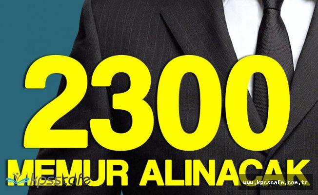 Maliye Bakanlığı 2 Bin 300 Memur Alacak! Başvuru Sürecinde Sona Geliniyor (KPSS Şartı Var)