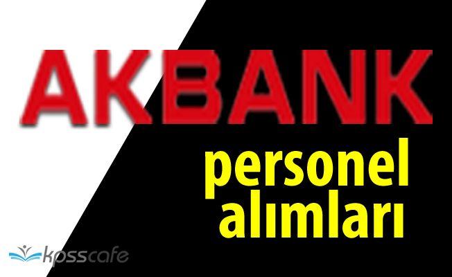 Akbank Çok Sayıda Pozisyonuna Personel Alacak! Başvurular Sürüyor