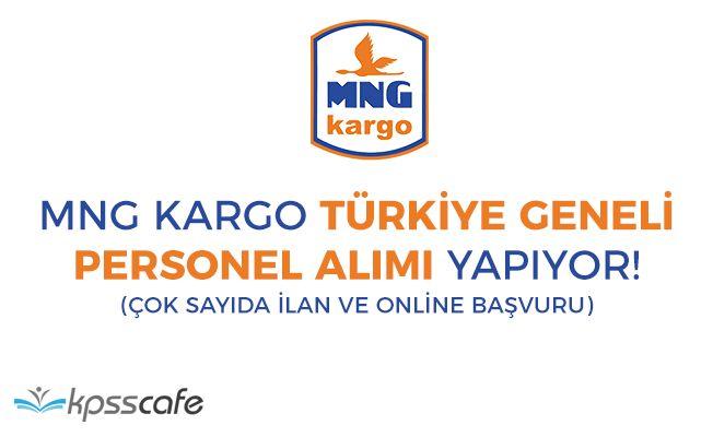 MNG Kargo Türkiye Geneli Çok Sayıda Personel Alım İlanı Yayımladı! Online Başvuru