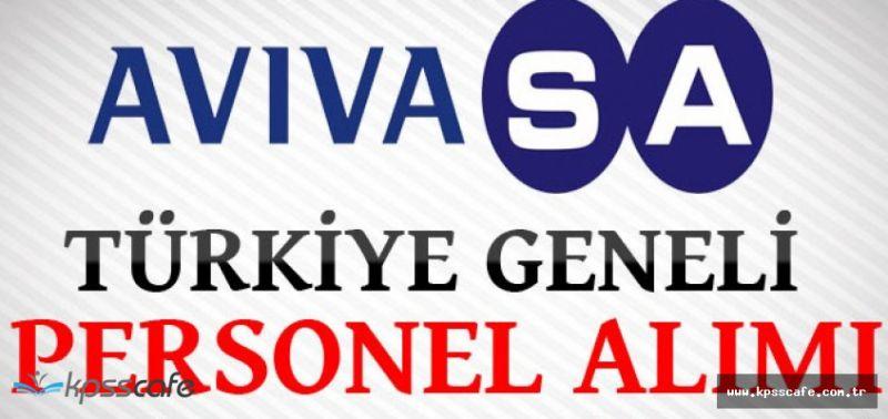 AvivaSA Emeklilik ve Hayat A.Ş. Türkiye Geneli Personel Alımları