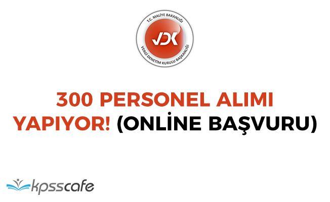 Vergi Denetim Kurulu 300 Personel Alıyor! Online Başvuru İmkanı