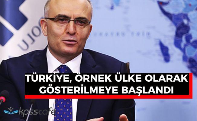 """Maliye Bakanı Ağbal: """"Türkiye örnek ülke gösterilmeyi başardı"""""""