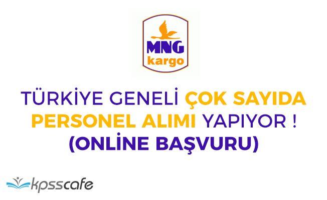 MNG Kargo Online Başvuruyla Türkiye Geneli Personeller Alacak!