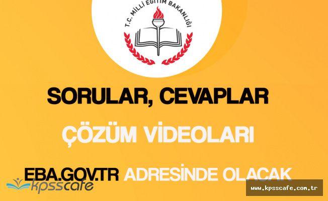 Merkezi Ortak Sınav (TEOG) Sınav Soruları, Cevapları ve Çözümleri Saat 14.00'de Yayımlanacak
