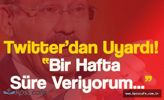 Gökçek Uyardı! 'Fiyatlar Düşmezse' Ankara'da Yeni Dönem Başlıyor