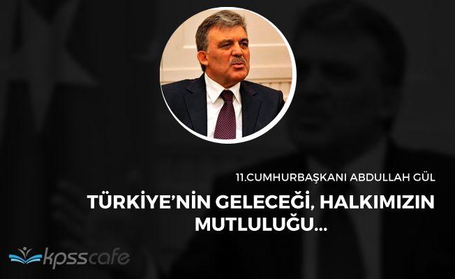 Eski Cumhurbaşkanı Abdullah Gül'den Avrupa İlişkileri Üzerine Açıklama