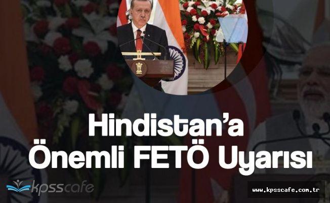 Cumhurbaşkanı Erdoğan'dan Hindistan'da FETÖ Mesajı