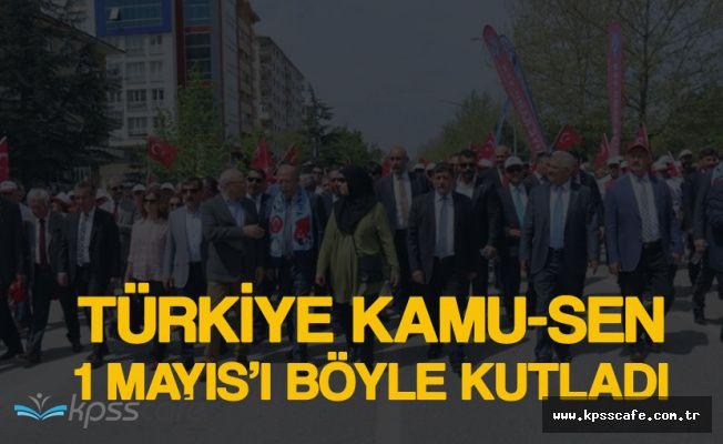 Türkiye Kamu-Sen Genç İşsizlerle, Memurlarla, İşçilerle, Taşeronlarla Kucaklaştı